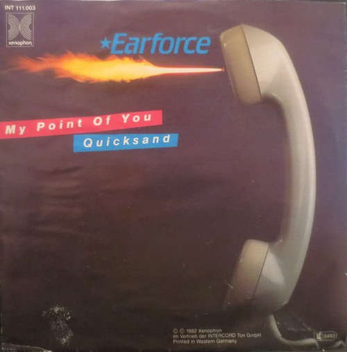 Cover Earforce (2) - My Point Of You / Quicksand (7, Single) Schallplatten Ankauf