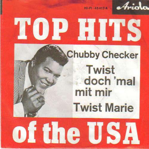 Cover Chubby Checker - Twist Doch 'Mal Mit Mir (7, Single) Schallplatten Ankauf