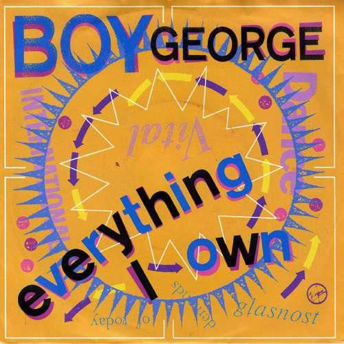 Cover Boy George - Everything I Own (7, Single) Schallplatten Ankauf