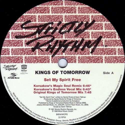 Cover Kings Of Tomorrow - Set My Spirit Free / Czar (12) Schallplatten Ankauf