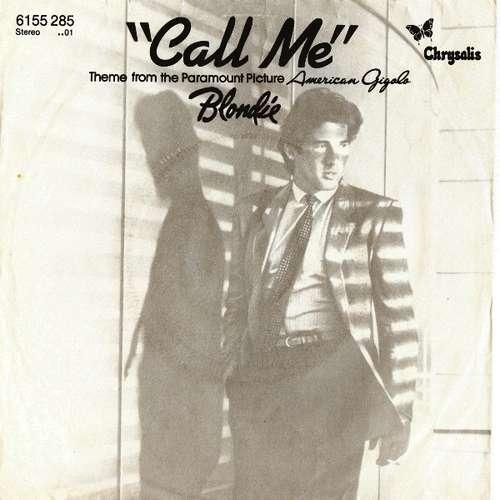 Cover Blondie - Call Me (7, Single) Schallplatten Ankauf