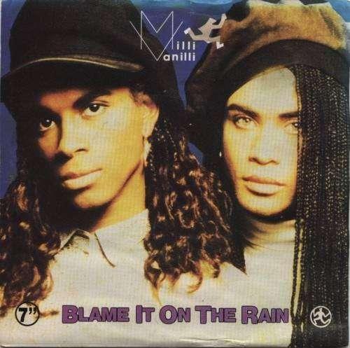 Bild Milli Vanilli - Blame It On The Rain (7, Single, Sil) Schallplatten Ankauf
