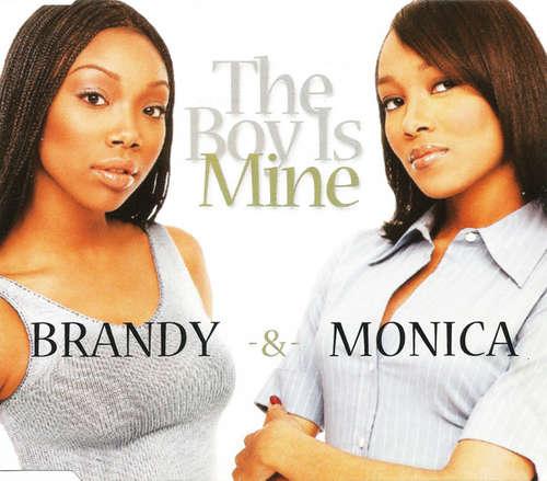 Cover Brandy (2) & Monica - The Boy Is Mine (CD, Single) Schallplatten Ankauf