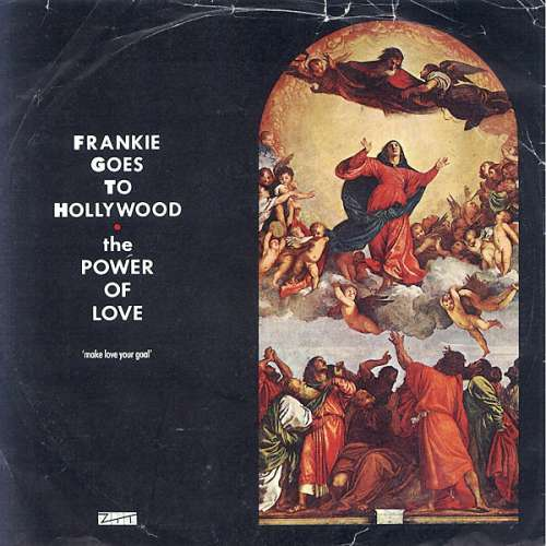 Cover Frankie Goes To Hollywood - The Power Of Love (7, Single) Schallplatten Ankauf