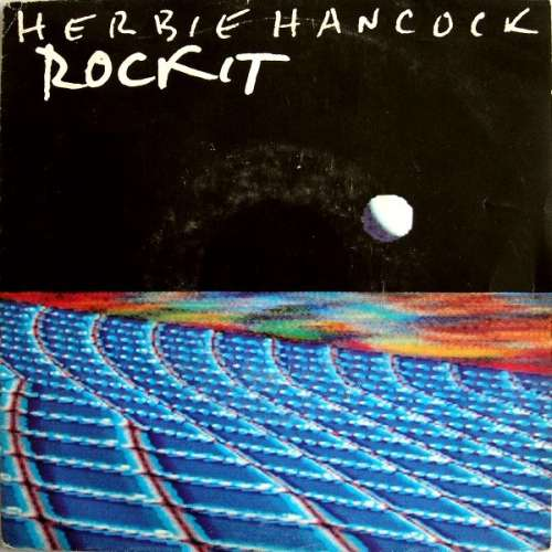 Cover Herbie Hancock - Rockit (7, Single) Schallplatten Ankauf
