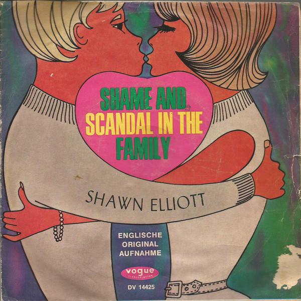 Cover Shawn Elliott - Shame And Scandal In The Family  (7, Single) Schallplatten Ankauf