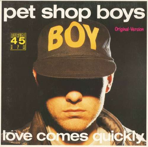 Cover Pet Shop Boys - Love Comes Quickly (Original-Version) (12, Maxi) Schallplatten Ankauf