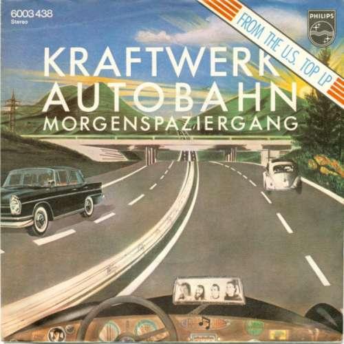 Cover Kraftwerk - Autobahn (7, Single) Schallplatten Ankauf