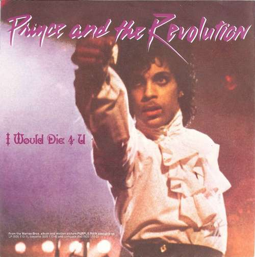 Cover Prince And The Revolution - I Would Die 4 U (7, Single) Schallplatten Ankauf