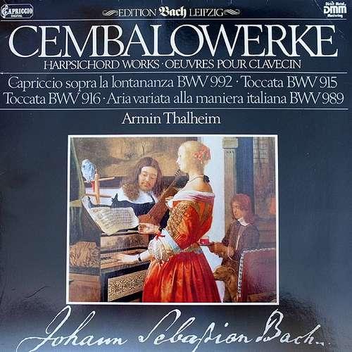 Bild Johann Sebastian Bach, Armin Thalheim - Cembalowerke (LP, Club, Gat) Schallplatten Ankauf