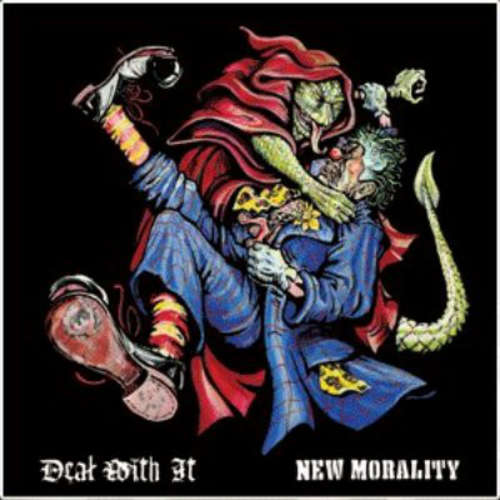 Bild Deal With It / New Morality - Fear The Birdman (7, EP, Gre) Schallplatten Ankauf