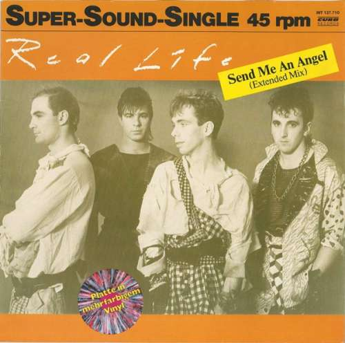 Cover Real Life - Send Me An Angel (Extended Mix) (12, Sup) Schallplatten Ankauf