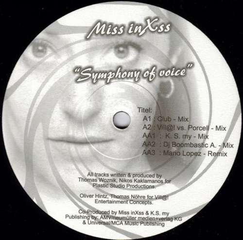 Bild Miss InXss - Symphony Of Voice (12) Schallplatten Ankauf