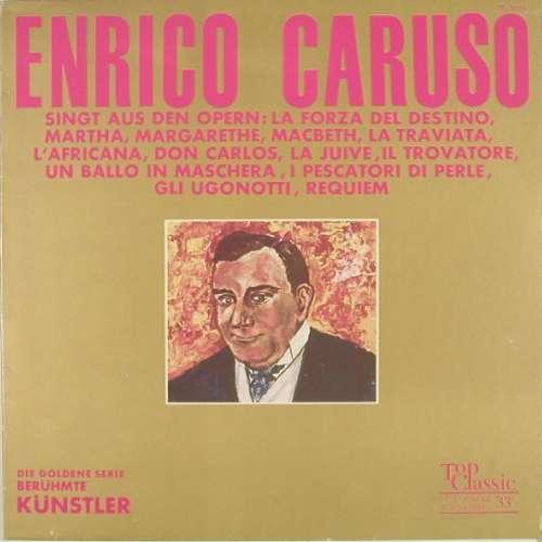 Bild Enrico Caruso - Enrico Caruso Singt Aus Opern (LP, Comp) Schallplatten Ankauf