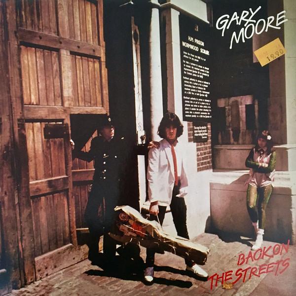 Cover Gary Moore - Back On The Streets (LP, Album) Schallplatten Ankauf