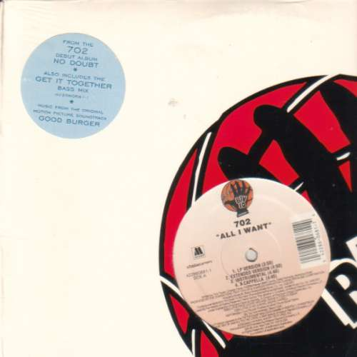 Cover 702 - All I Want / Get It Together (W/ Remixes) (12) Schallplatten Ankauf