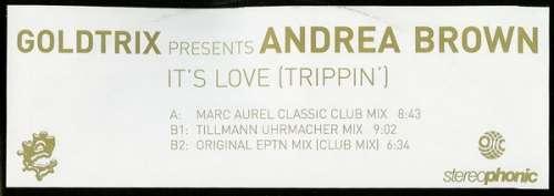 Bild Goldtrix Presents Andrea Brown - It's Love (Trippin') (12) Schallplatten Ankauf