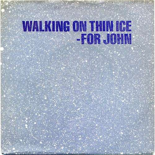 Bild Yoko Ono - Walking On Thin Ice (7, Single) Schallplatten Ankauf