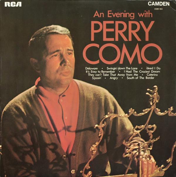 Cover Perry Como - An Evening With Perry Como (LP, Album, Mono) Schallplatten Ankauf