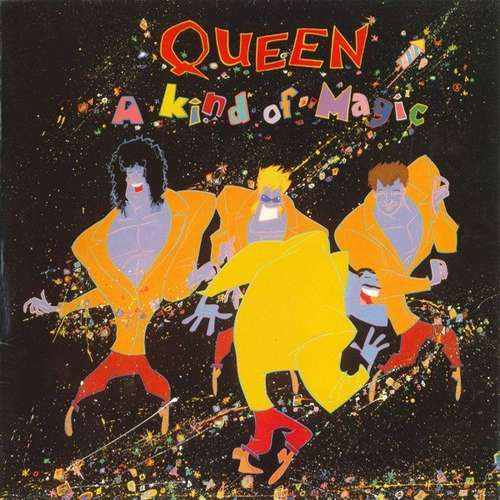 Cover Queen - A Kind Of Magic (LP, Album, Gat) Schallplatten Ankauf
