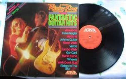 Bild Ricky King - Ricky King Plays Fantastic Guitar Hits (LP, RE) Schallplatten Ankauf