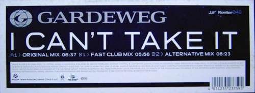 Bild Gardeweg* - I Can't Take It (12) Schallplatten Ankauf
