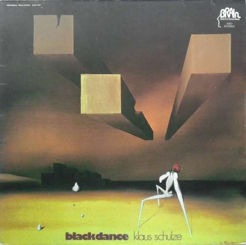 Cover Klaus Schulze - Blackdance (LP, Album, RE, Gat) Schallplatten Ankauf