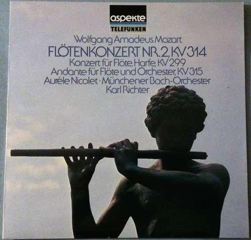 Bild Wolfgang Amadeus Mozart - Münchner Bach-Orchester*, Aurèle Nicolet, Rose Stein, Karl Richter - Flötenkonzert Nr. 2, KV 314 (LP) Schallplatten Ankauf