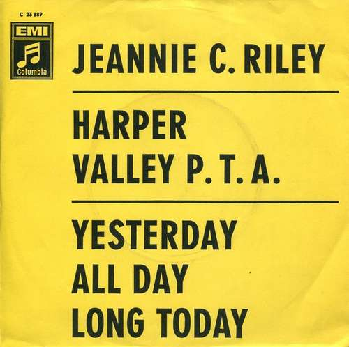 Bild Jeannie C. Riley - Harper Valley P. T. A. / Yesterday All Day Long Today (7, Single) Schallplatten Ankauf
