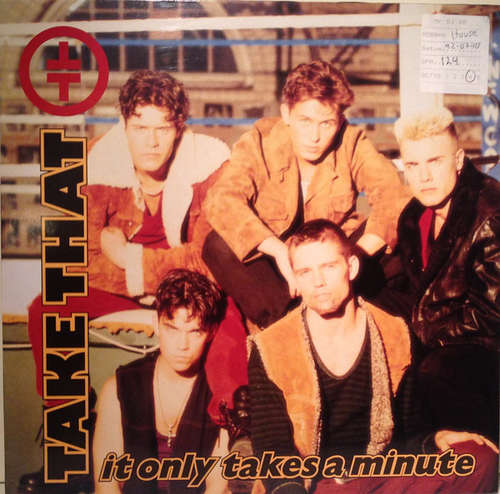 Cover zu Take That - It Only Takes A Minute (12, Maxi) Schallplatten Ankauf