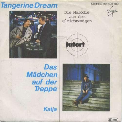 Cover Tangerine Dream - Das Mädchen Auf Der Treppe (7, Single) Schallplatten Ankauf