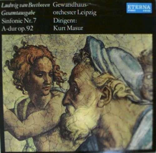 Bild Ludwig van Beethoven, Gewandhausorchester Leipzig, Kurt Masur - Sinfonie Nr. 7 A-dur Op. 92 (LP) Schallplatten Ankauf