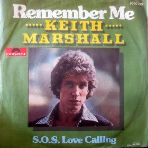 Bild Keith Marshall - Remember Me (7, Single) Schallplatten Ankauf