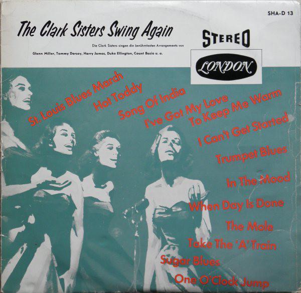 Cover The Clark Sisters (2) - Swing Again (LP, Album) Schallplatten Ankauf