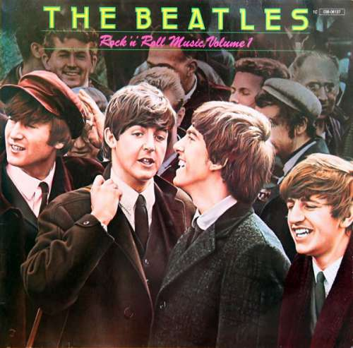 Cover The Beatles - Rock'n'Roll Music, Volume 1 (LP, Comp) Schallplatten Ankauf
