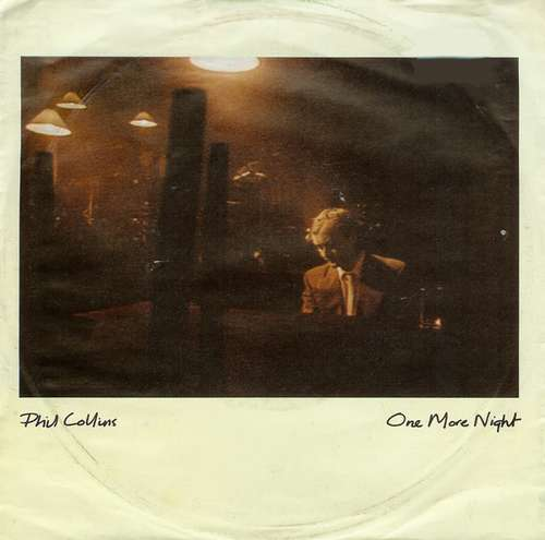 Cover zu Phil Collins - One More Night (7, Single) Schallplatten Ankauf