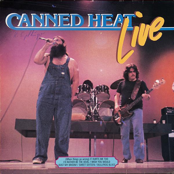 Bild Canned Heat - Live (LP, Album) Schallplatten Ankauf