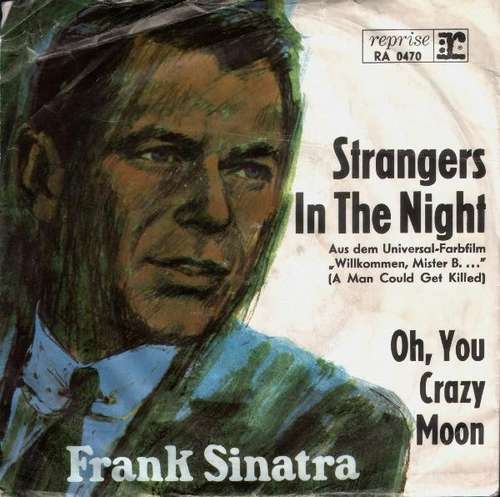 Cover Frank Sinatra - Strangers In The Night (7, Single) Schallplatten Ankauf