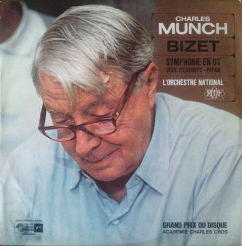 Cover zu L'Orchestre National O.R.T.F.* Conducted By Charles Munch / Bizet* - Symphonie En Ut Majeur / Jeux D'Enfants / Patrie (LP) Schallplatten Ankauf
