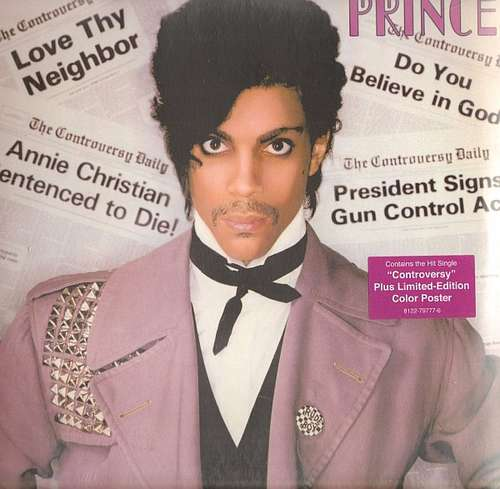 Cover Prince - Controversy (LP, Album, RE, RM, 180) Schallplatten Ankauf