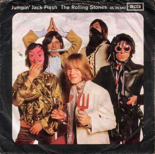 Bild The Rolling Stones - Jumpin' Jack Flash (7, Single) Schallplatten Ankauf
