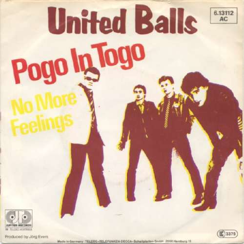Cover United Balls - Pogo In Togo (7, Single) Schallplatten Ankauf