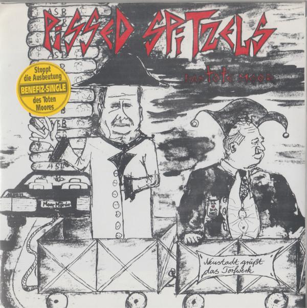 Cover Pissed Spitzels - Das Tote Moor (7, EP, Gre) Schallplatten Ankauf