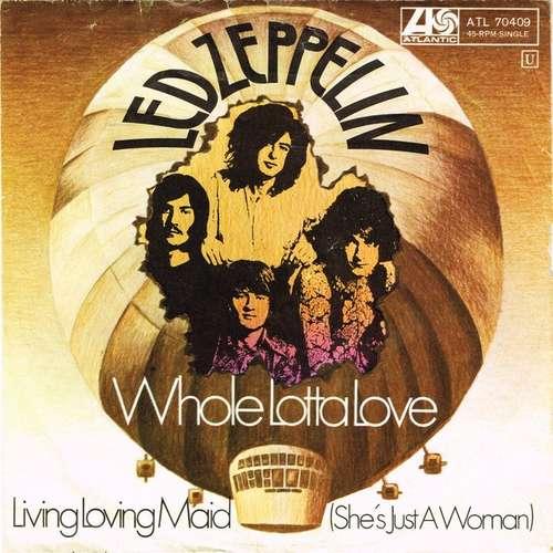 Bild Led Zeppelin - Whole Lotta Love (7, Single, Mono) Schallplatten Ankauf