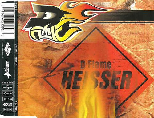Cover D-Flame - Heisser (CD, Maxi) Schallplatten Ankauf