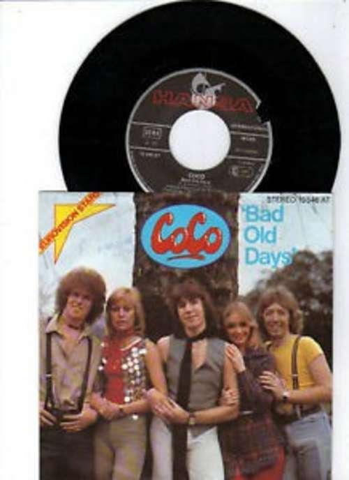 Cover zu CoCo* - Bad Old Days (7, Single) Schallplatten Ankauf