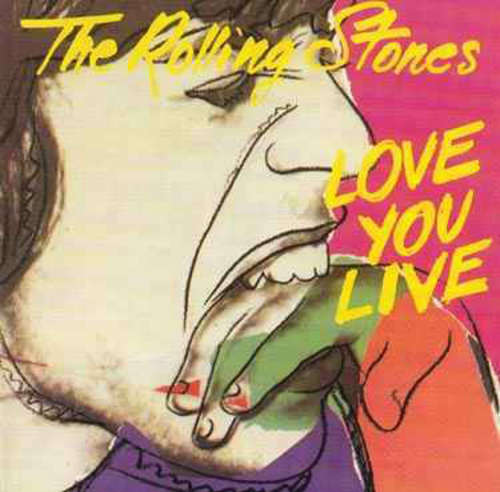 Cover The Rolling Stones - Love You Live (2xLP, Album, Gat) Schallplatten Ankauf