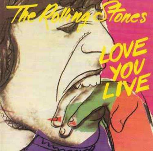 Cover The Rolling Stones - Love You Live (2xLP, Album, Gat) Schallplatten Ankauf