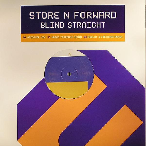 Cover Store N Forward - Blind Straight (12) Schallplatten Ankauf