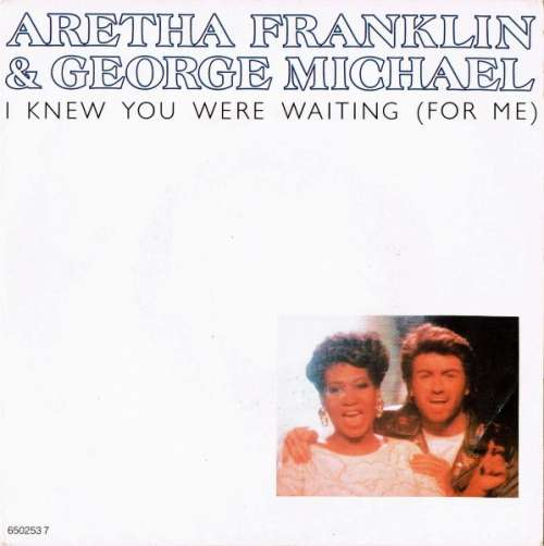 Cover Aretha Franklin & George Michael - I Knew You Were Waiting (For Me) (7, Single) Schallplatten Ankauf